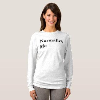 Camiseta Normalize-me