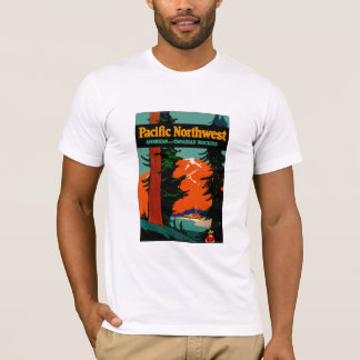 Camiseta Noroeste pacífico