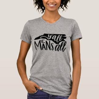 """Camiseta North Carolina """"você significa todo o"""" t-shirt"""