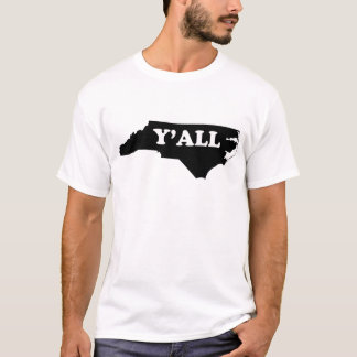 Camiseta North Carolina Yall