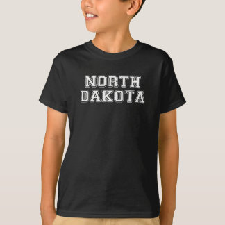 Camiseta North Dakota