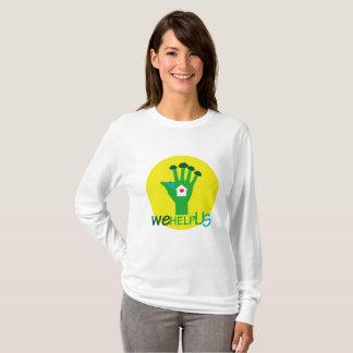 Camiseta nós ajudamos-nos