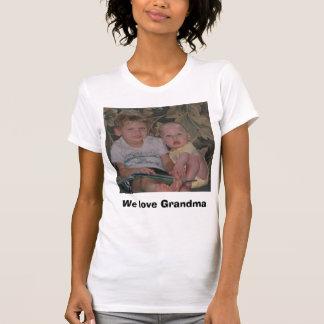 Camiseta Nós amamos a avó