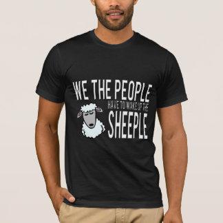 Camiseta Nós as pessoas acordamos o Sheeple