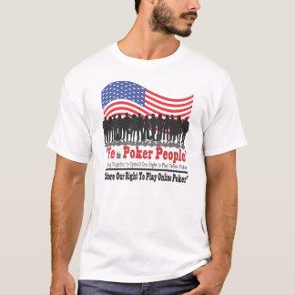 Camiseta Nós as pessoas do póquer