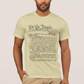 Camiseta Nós as pessoas do t-shirt da constituição (feito