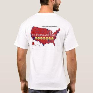 Camiseta Nós as pessoas ELEGEMOS o #Trump, NÃO Rússia!