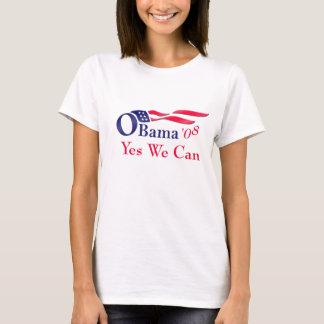 Camiseta Nós das mulheres de Obama sim podemos t-shirt
