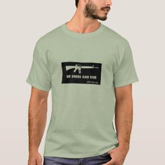 Camiseta Nós disparamos em miúdos de EMO