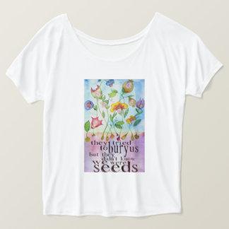 Camiseta Nós éramos o t-shirt das mulheres das sementes