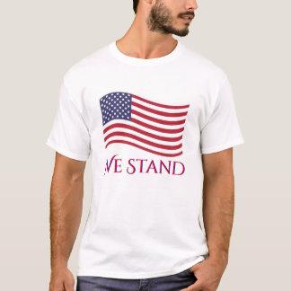 Camiseta Nós estamos a bandeira americana