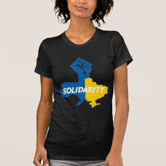 Camiseta Nós estamos com Ucrânia