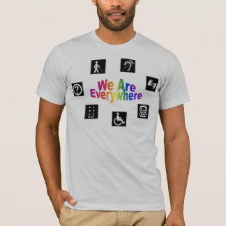 Camiseta Nós estamos em toda parte