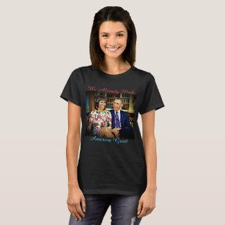 Camiseta Nós já fizemos o excelente, a Michelle e o Barack