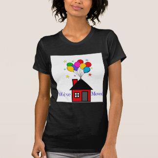 Camiseta Nós movemos a casa nova