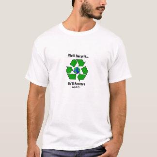 Camiseta Nós recicl. Restaurará