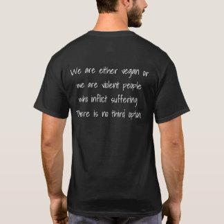 Camiseta Nós somos ou vegan ou…