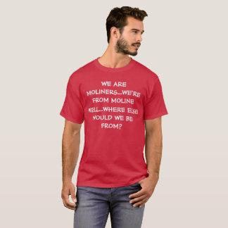 Camiseta Nós somos T engraçado de MOLINERS