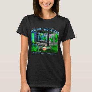 Camiseta Nós somos t-shirt dos sobreviventes