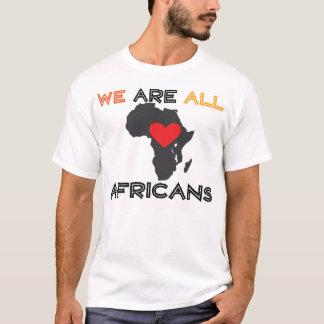 Camiseta Nós somos todos os africanos