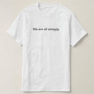 Camiseta Nós somos todos os animais