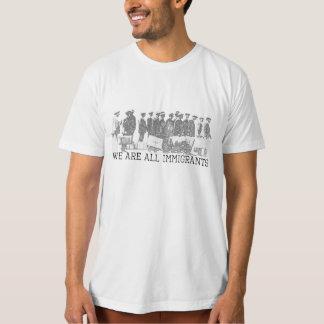 Camiseta Nós somos todos os imigrantes