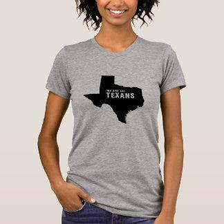 Camiseta Nós somos todos os Texans após o furacão Harvey