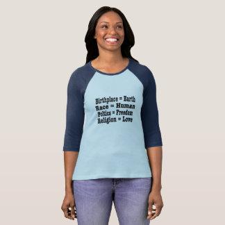 Camiseta Nós somos TUDO t-shirt humano