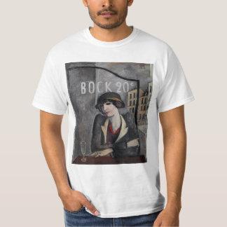 """Camiseta """"Nos subúrbios arte do vintage de Paris"""""""