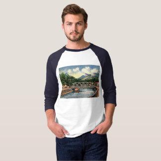 Camiseta Nos subúrbios, vintage de Honolulu, Havaí