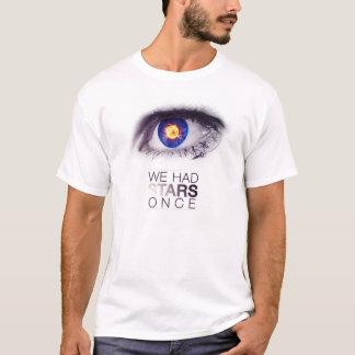 Camiseta Nós tivemos estrelas uma vez