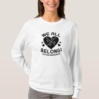 Camiseta Nós todos pertencemos