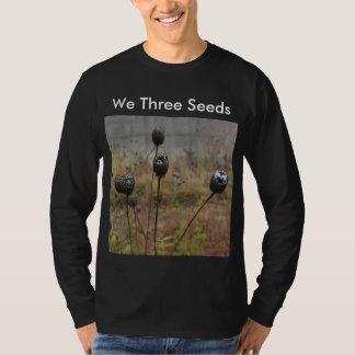 Camiseta Nós três sementes