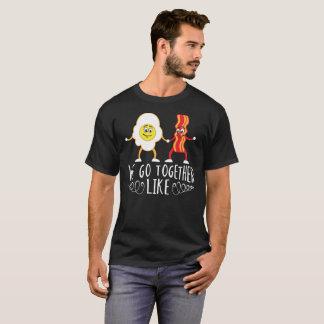 Camiseta Nós vamos junto como o presente dos ovos e dos