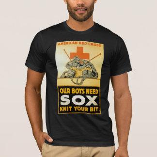 Camiseta Nossa malha do ~ do Sox da necessidade dos meninos