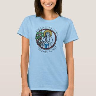 Camiseta Nossa senhora da igreja Católica de Lourdes -
