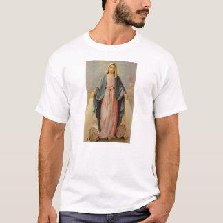 Camiseta Nossa senhora da mãe abençoada rosário Mary