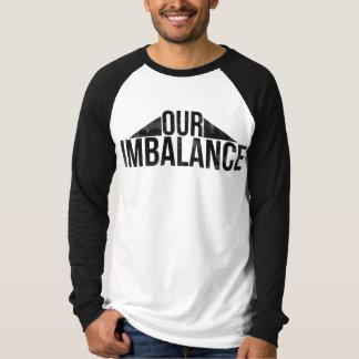 Camiseta Nosso desequilíbrio - t-shirt de Reglan