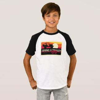 Camiseta Nosso design do por do sol 4x4 para miúdos!