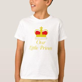 Camiseta Nosso príncipe pequeno