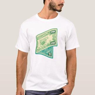 Camiseta Nota de dólar 20/1