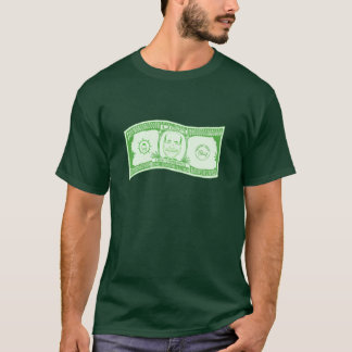 Camiseta Nota de dólar do Quadrillion