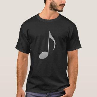 Camiseta Nota de prata da música
