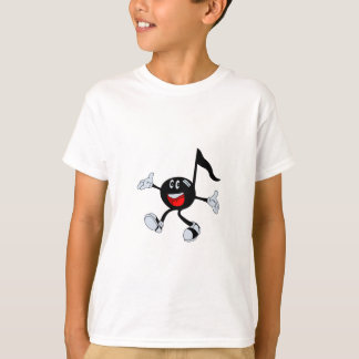 Camiseta Nota feliz