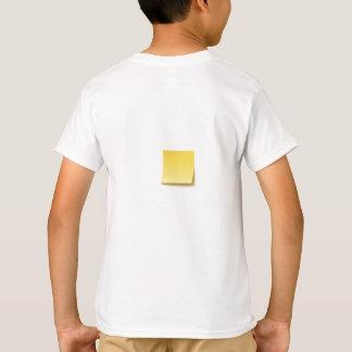 Camiseta Nota pegajosa vazia