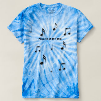 Camiseta Notas musicais