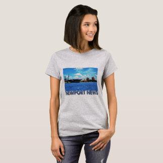 Camiseta Notícia de Newport, VA