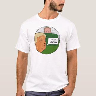 Camiseta Notícia falsificada do trunfo