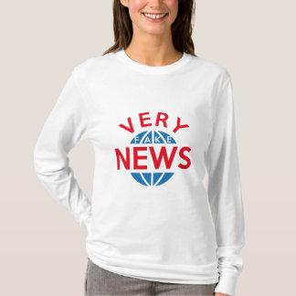 Camiseta Notícia muito falsificada