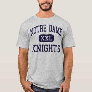 Camiseta Notre Dame - cavaleiros - alta - carvalhos de